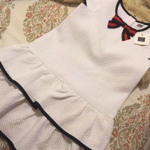 ❤️Janie and jack gorgeous white dress NWT size 6❤️